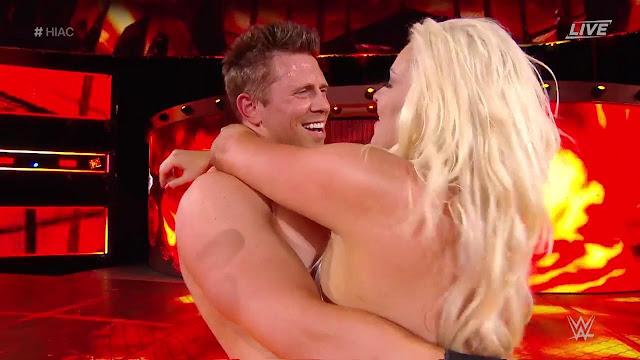 WWE Hell In A Cell 2018 : The Miz & Maryse Def.  Daniel Bryan & Brie Bella