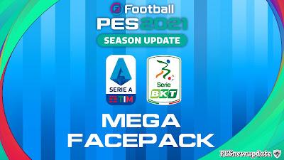PES 2021 Serie A + B Mega Facepack