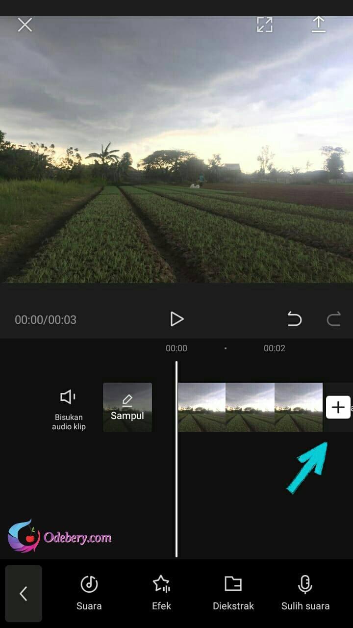 Cara ngedit foto di capcut