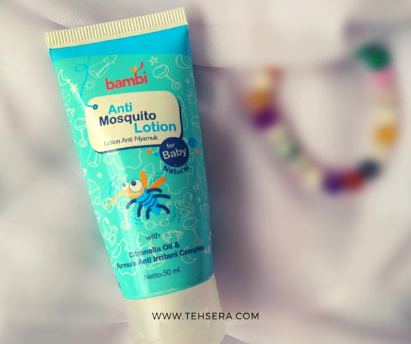 bambi lotion anti nyamuk untuk bayi