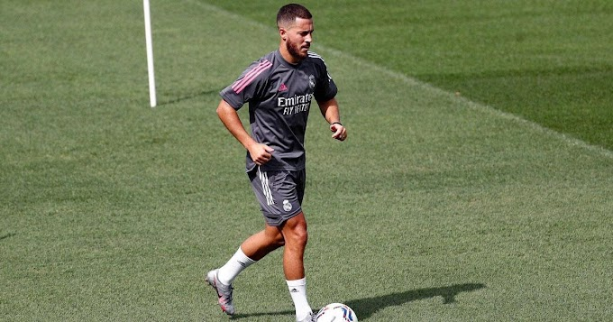 Hazard set to make return to Real Madrid first-team training after recovering from ankle injury