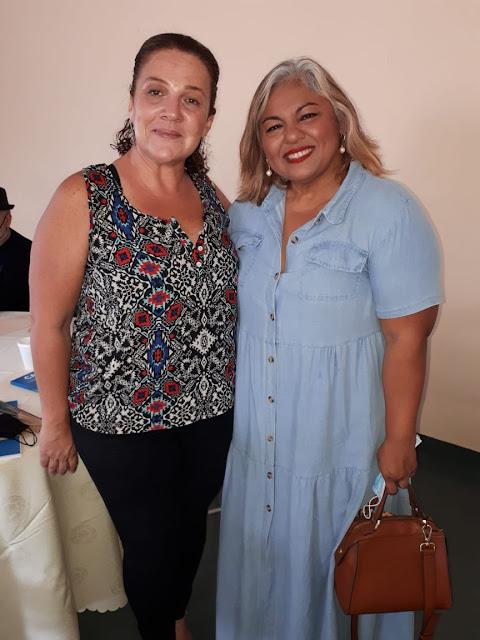 Tiziana Roma y Jessica Lara.
