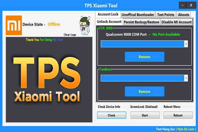 TPS Xiaomi Tool