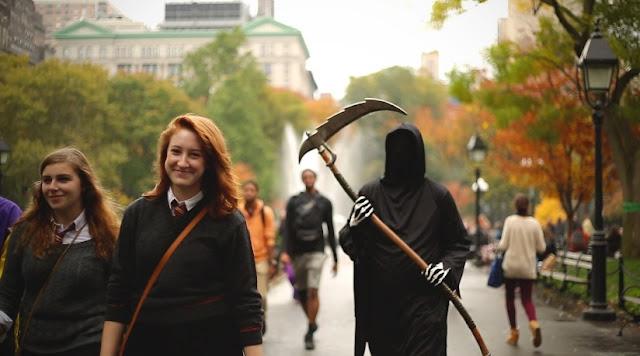 Clima no Halloween em Nova York
