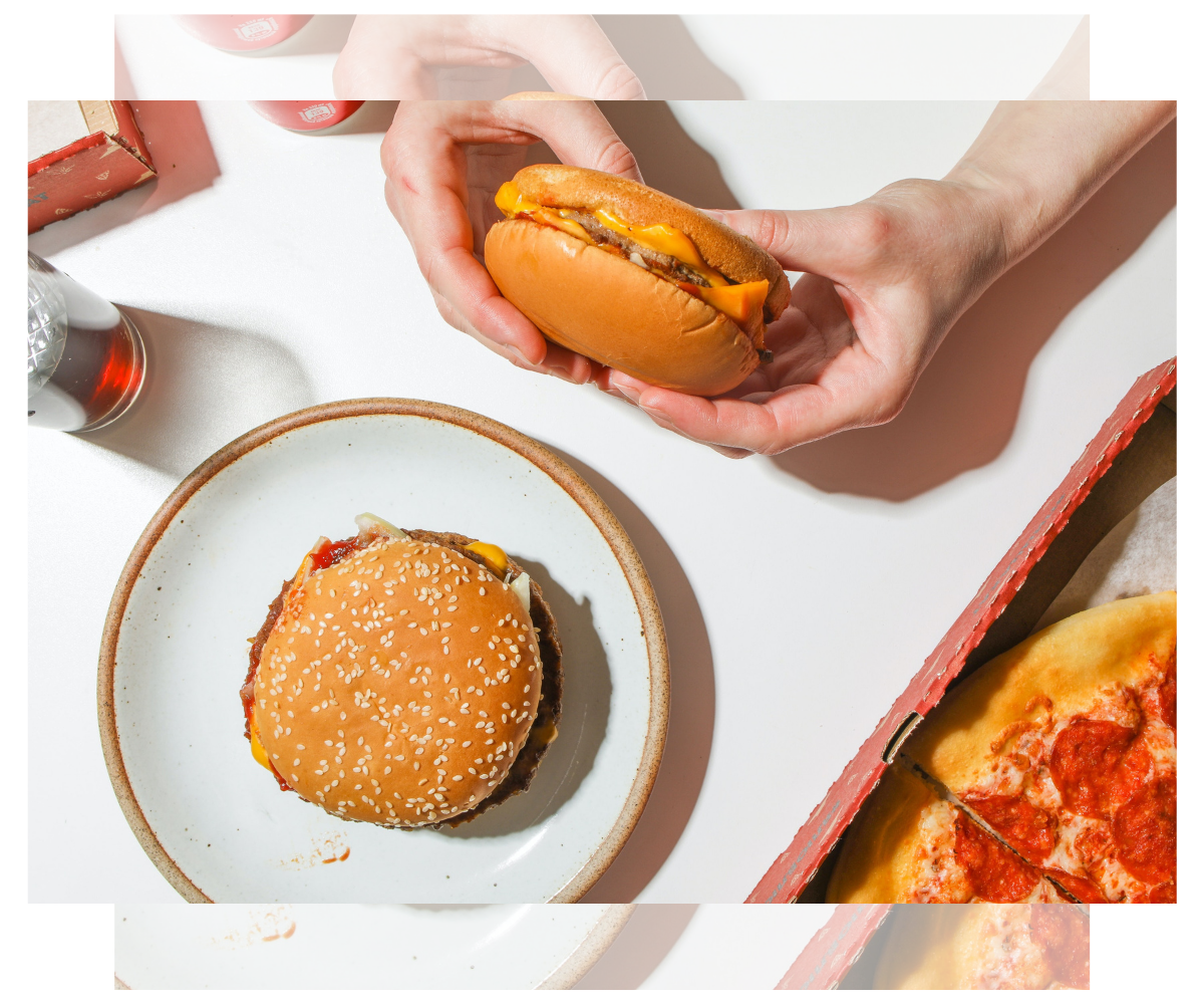 #teamburger o #teampizza