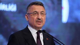 نائب أردوغان: الجيش التركي سيواصل تلقين الدروس لمنتهكي القانون الدولي