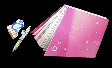 PNG #25 Libro+Lapiz+Goma de borrar