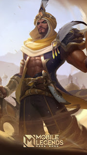 Khaleed Prince of Sand Heroes Fighter of Skins