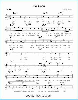barbados lagu jazz standar