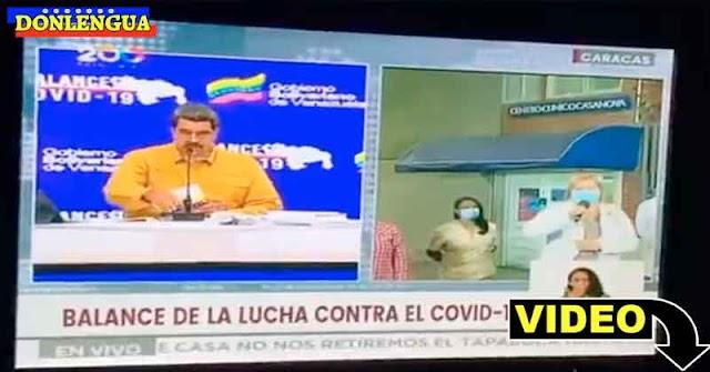 Maduro inaugura un centro médico y se lleva una buena sorpresa en vivo