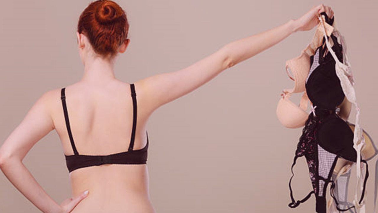 6 solutions to maintain your breasts without a standard bra