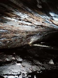 Inside Gnat bank mill tunnel 30ft inside derelictmanchester.com