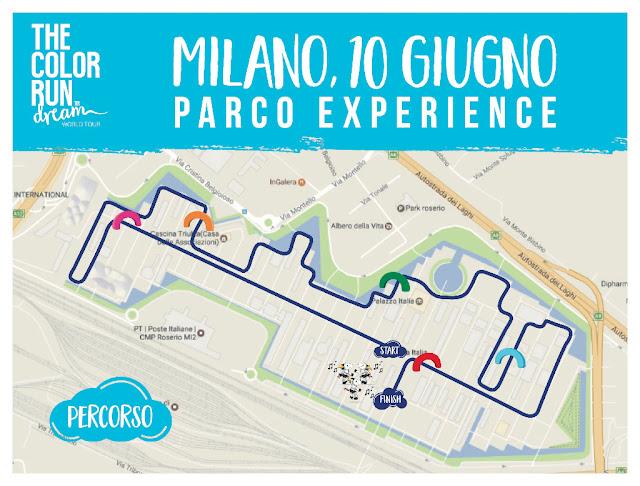 The Color Run Dream World Tour - Milano