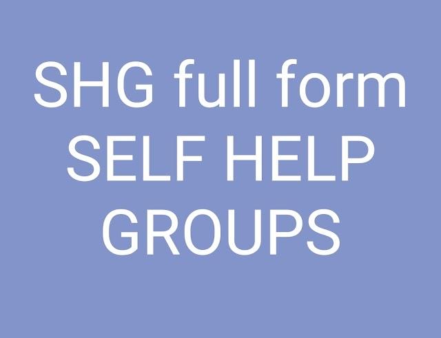 SHG FULL FORM
