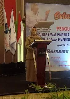 Wakil Bupati Sinjai di Daulat Mewakili Sambutan Muspida Seluruh Kabupaten dalam Acara Pelantikan Ajo Indonesia