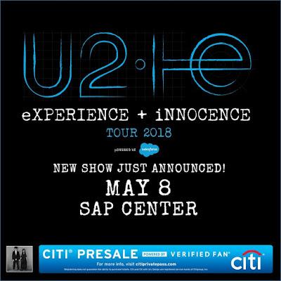 U2 - SAP Center, San Jose, 8 May 2018 - Guitars101 - Guitar Forums