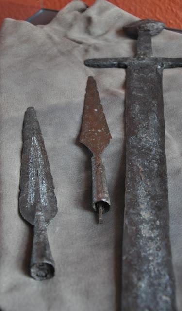 Muzeum w Gross Raden - uzbrojenie