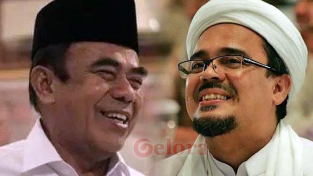 Menag Fachrul Razi Cerita Hubungan Dekatnya dengan Habib Rizieq