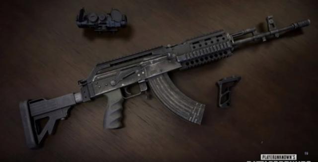 Jenis senjata pubg tercepat membunuh musuh Beryl M762