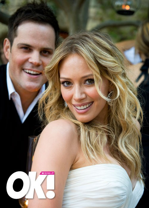 Hilary Duff Tied The Knot August 2010 With Pro Hockey Star Mike Comrie I Came Across These Lovely Photos From Ok Magazine And Thought Should Share