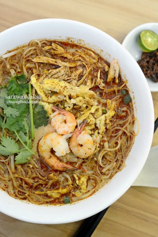 The Reason That Had Me Walking Into Kuching Noodle House Was Sarawak Laksa I Have Developed A Crush On Unique Broth From My Other Food