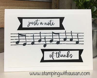 Stampin' Up!, Music From the Heart, www.stampingwithsusan.com, Susan LaCroix, 2020 Mini Catalog