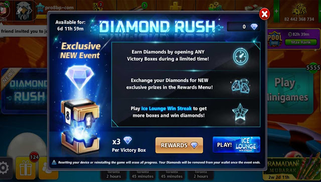 Diamond Rush 8bp