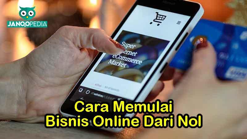 Janoopedia - Bisnis Online Dari Nol