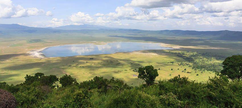 safari crater Ngorongoro