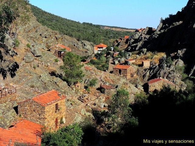 Molinos, fósiles, Penha García, Portugal