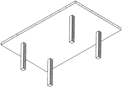 FIGURE 5 Flat plate system.
