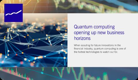 Quantum Computing at Deutsche Börse