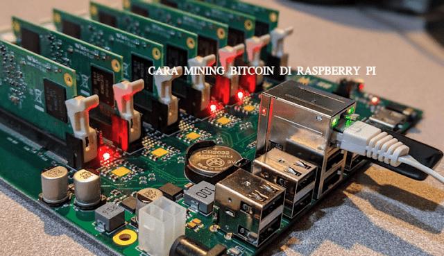 Cara mining Bitcoin di Raspberry pi menggunakan pool Nicehash -