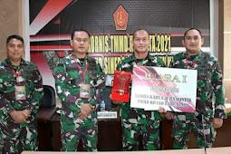 Pendam XVI/Pattimura Raih Juara I Video TMMD Ke-109