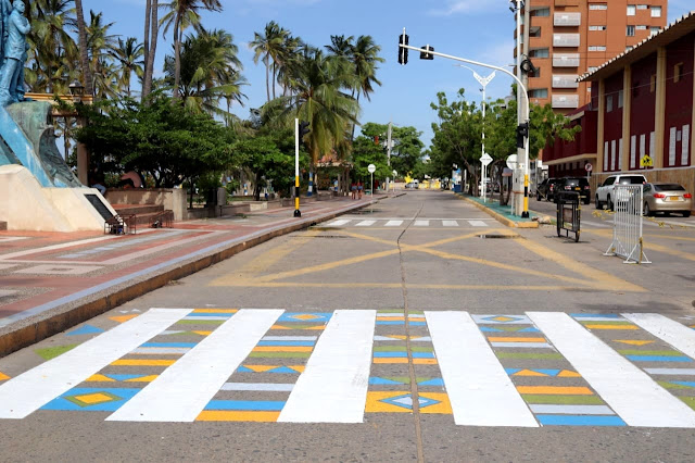 hoyennoticia.com, Calles primera y segunda de Riohacha intervenidas con urbanismo táctico