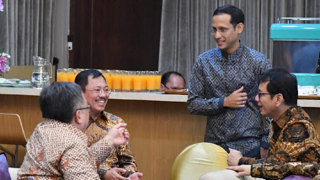 Jadi Menteri, Nadiem Mengaku Frustasi Urus Pendidikan Indonesia