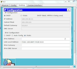 Cara Konfigurasi DHCP Router Menggunakan Cisco Packet Tracer