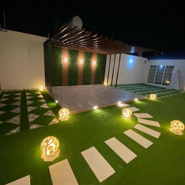 ترتيب حدائق منزلية بالقصيم, تجهيز حداق فلل  بالقصيم ,تصميم احواش منزلية بالقصيم,وتنسيق حدائق القصور,ة تنسيق ممرات الفلل لتوريد وتركيب العشب الصناعي