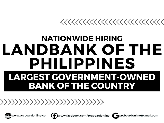LandBank Nationwide Hiring 2020