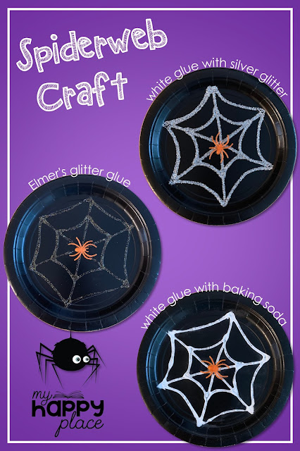 Spiderweb Paper Plate Craft