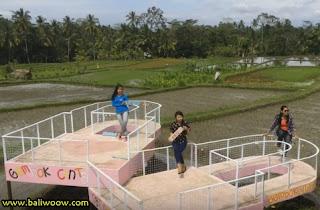 Gembok Cinta Tegallalang Bali