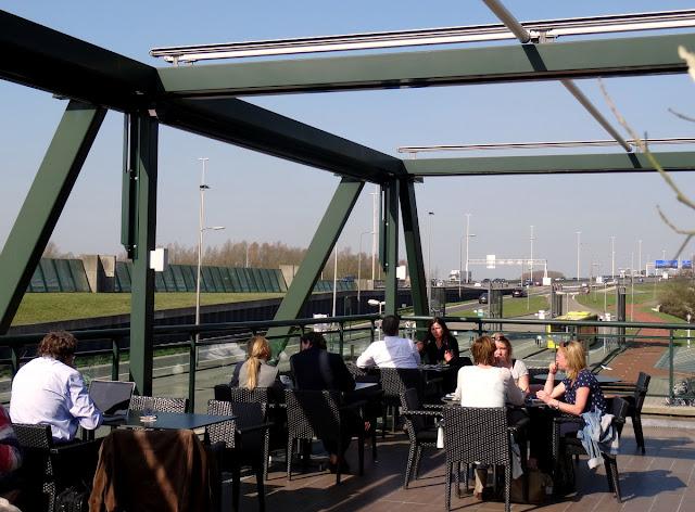 Terrace Van der Valk Hotel Restaurant Vianen in Utrecht, Netherlands