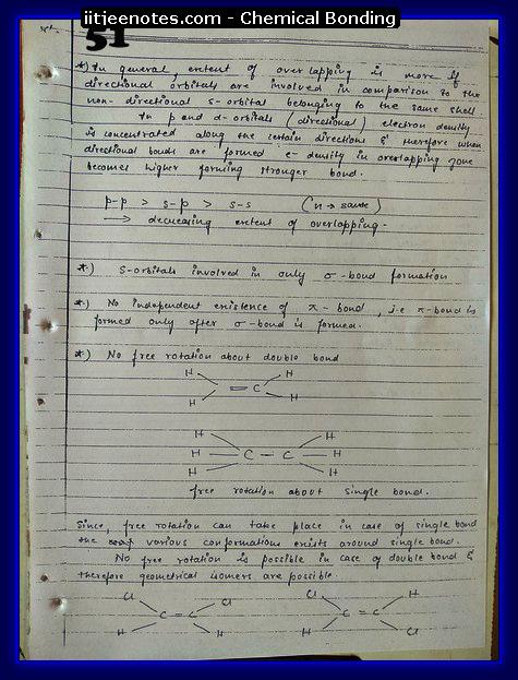 Chemical-Bonding Notes cbse3