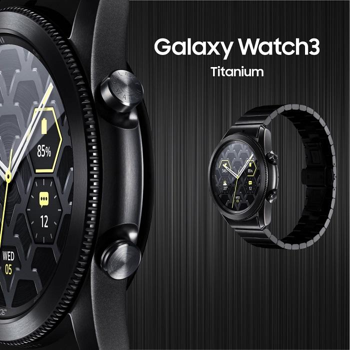 Samsung Galaxy Watch3 Titanium Price Tag