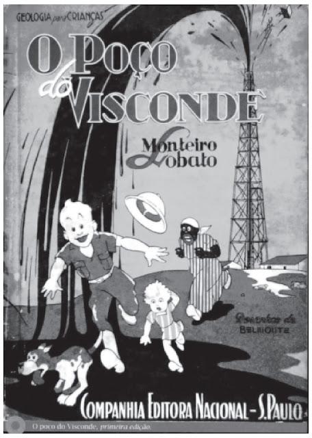 Na primeira metade do século XX, a obra infantil apresentada na imagem manifestava o interesse de setores políticos brasileiros no debate sobre a