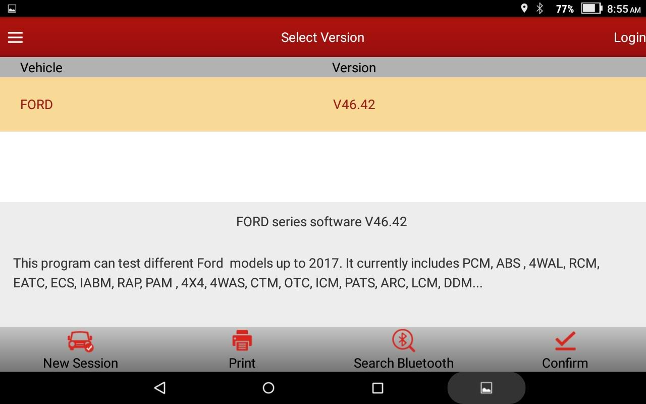 And launch x431 v support ford f 650 f750 test specification