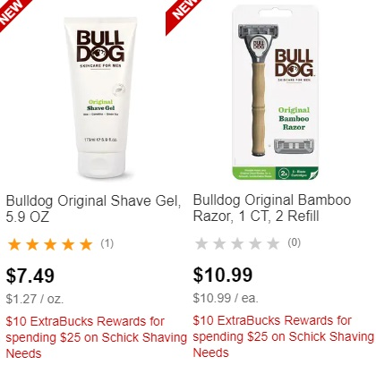 Bulldog Razor CVS Deal Only $0.99  6-16 6-22