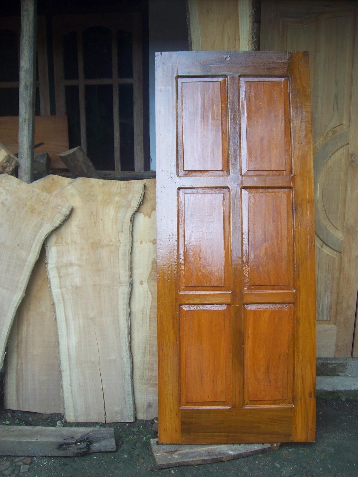 Mulya Jati Furniture Pintu Rumah Berbahan Kayu Jati