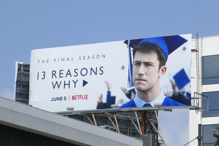 13 Reasons Why final season billboard