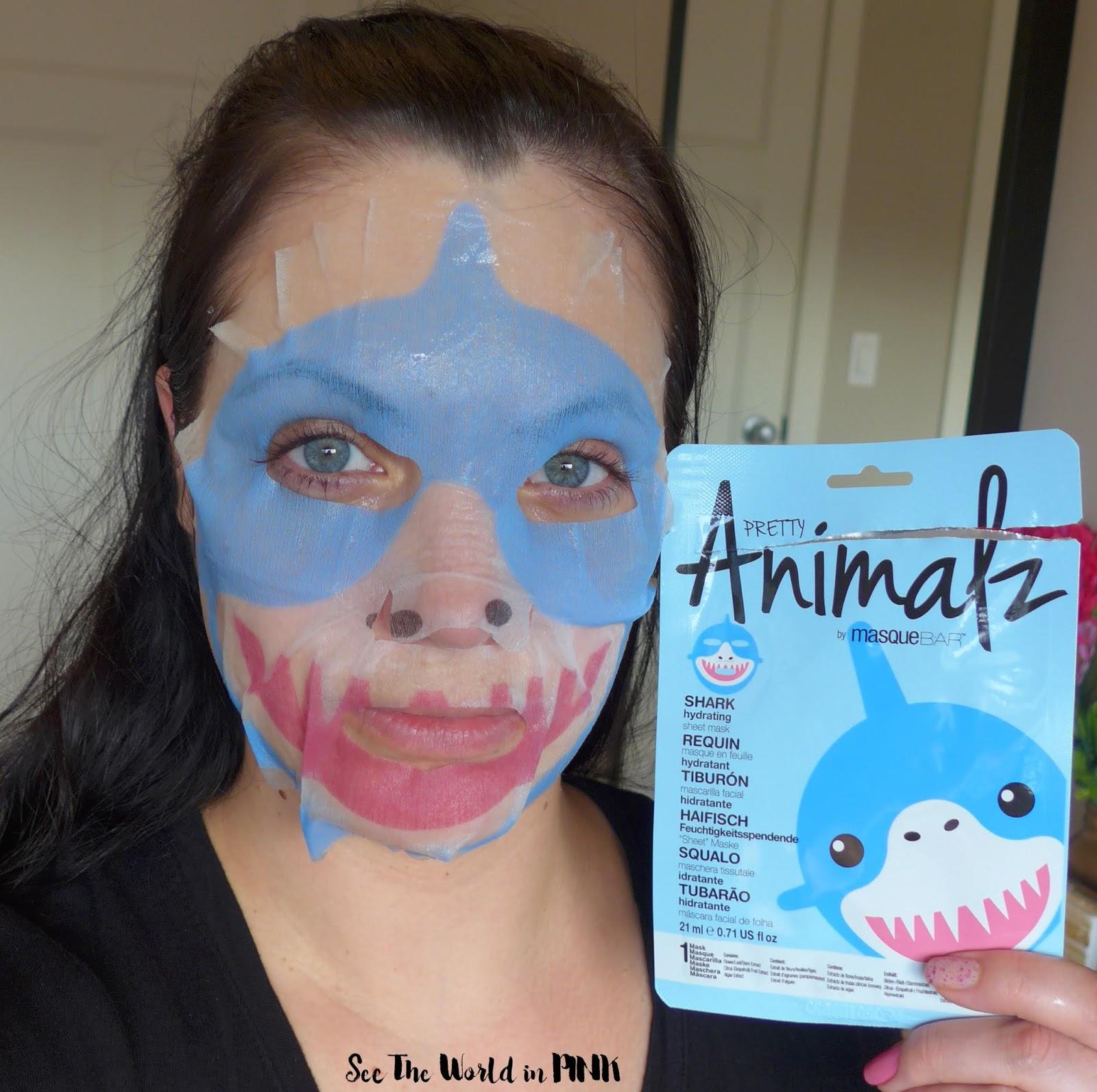 Masque Bar Pretty Animalz Shark Mask